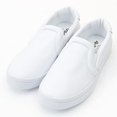 ADIDAS-COURTVANTAGE女休閒鞋-白