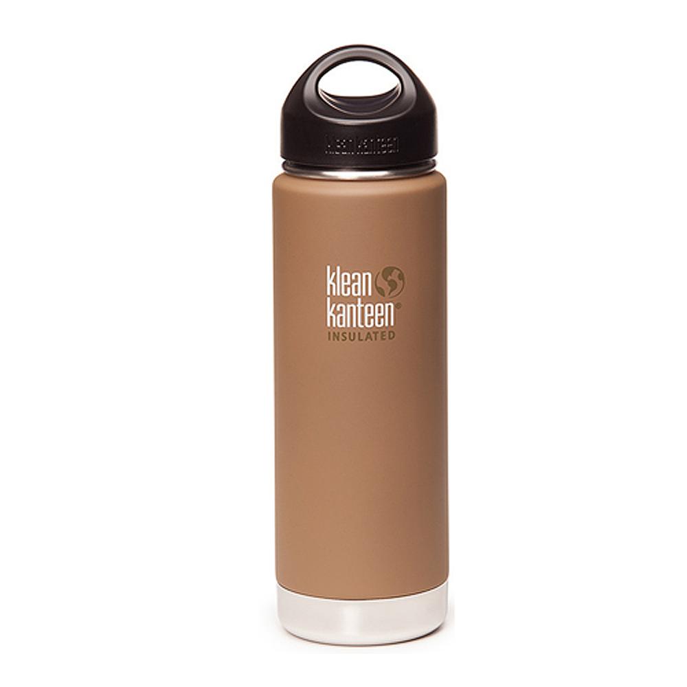 美國Klean Kanteen寬口保溫鋼瓶591ml-消光棕