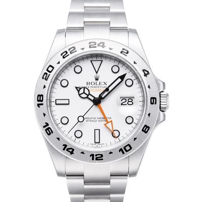 ROLEX 勞力士 216570 EXPLORER II 大探險家2號腕錶-白/40mm