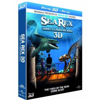 雷克斯海 史前世界  SEA REX  (3D/2D)  藍光 BD