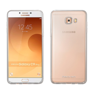 Metal-Slim SAMSUNG Galaxy C9 Pro 時尚超薄TPU透明軟殼