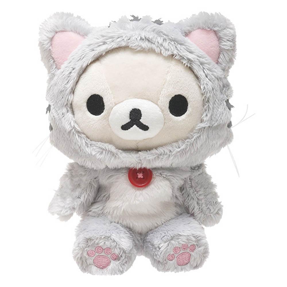 拉拉熊悠閒貓生活系列毛絨公仔。懶妹