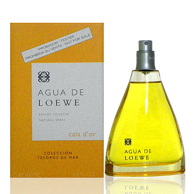 Loewe Agua De Loewe 金色沙灘淡香水 100ml Tester 包裝