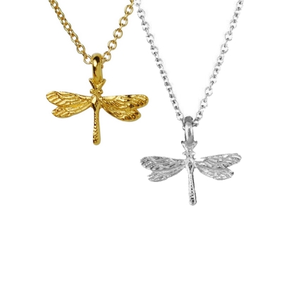 Dogeared 蜻蜓 DRAGONFLY 自由靈魂 金色 銀色 許願項鍊套組 附原廠盒