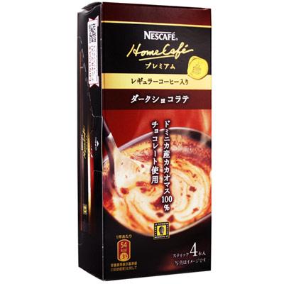 《雀巢》華麗家咖啡 - 黑巧克力拿鐵 (12g x 4入)