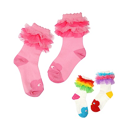 WHY AND 1/2 荷葉吸濕排汗短襪 多色可選