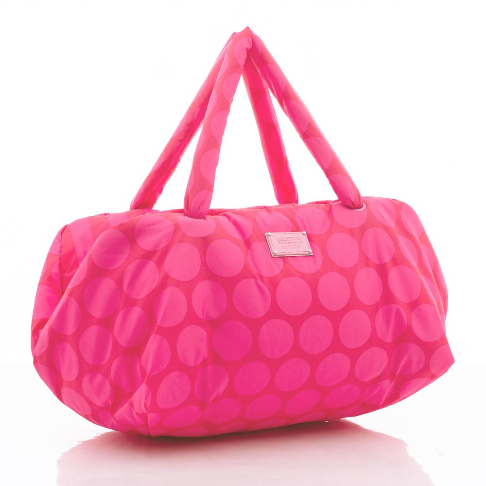VOVAROVA空氣包-馬卡龍系列-草莓棉花糖-週末旅行袋