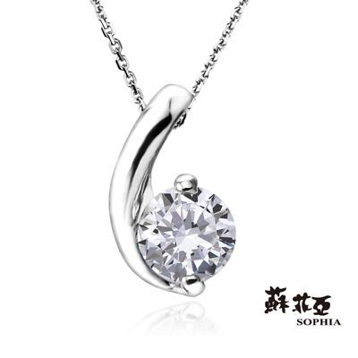 蘇菲亞SOPHIA 鑽石項鍊-小寶貝0.30克拉FVS2鑽鍊