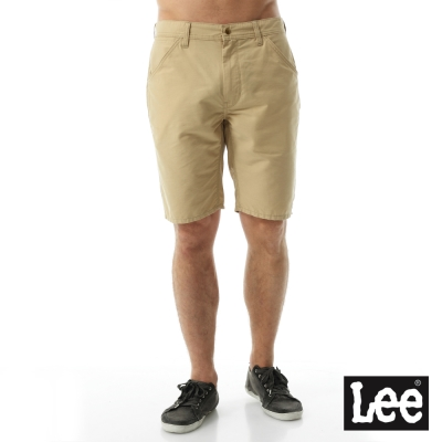 Lee 休閒短褲/RG-男款-卡其色