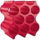 KOZIOL Setup自組式蜂巢酒架(紅)