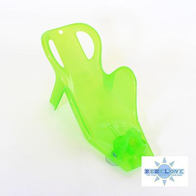 美國BeBeLove 多段式新生兒洗澡椅-透明綠 (0-1歲適用)