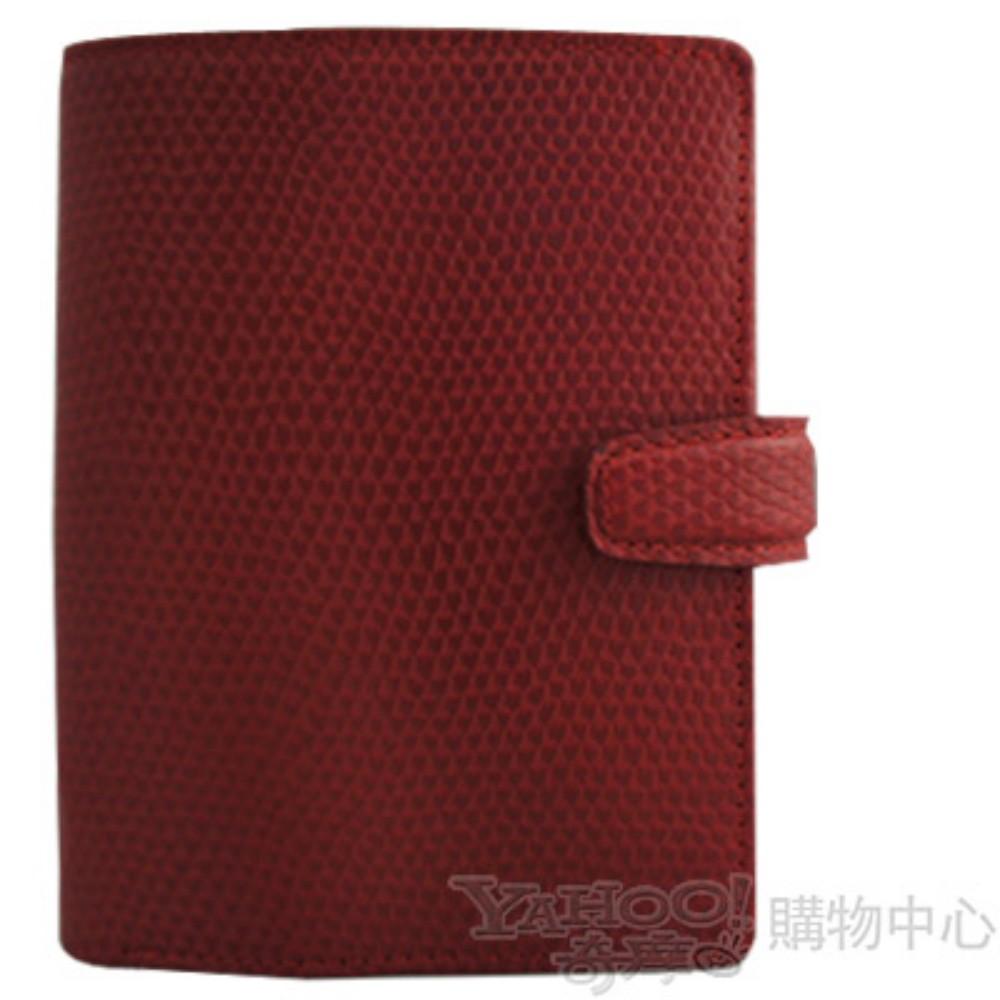 filofax 變色龍Chameleon手冊 口袋(小) 紅色