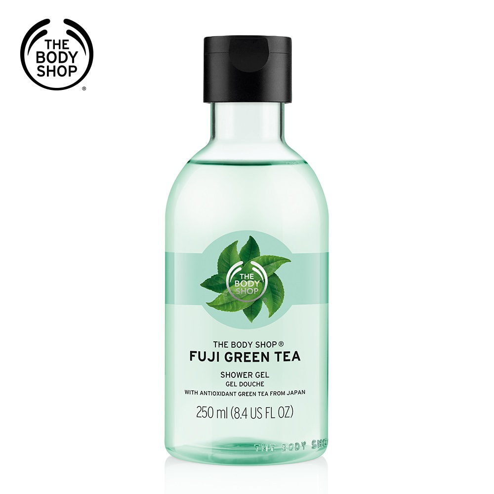 The Body Shop 富士山綠茶淨化沐浴膠250ML product image 1