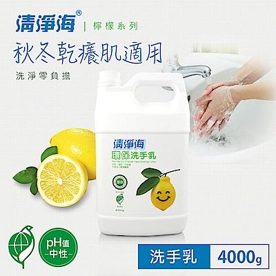 清淨海 檸檬系列環保洗手乳 4000g