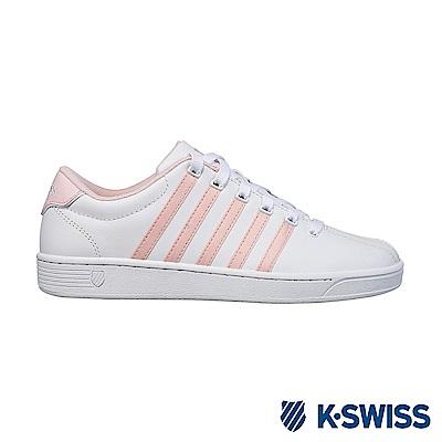 K-swiss Court Pro II CMF休閒運動鞋-女-白/粉橘