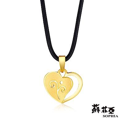 蘇菲亞SOPHIA - G LOVER系列戀曲黃金項鍊