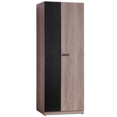 品家居 克拉拉2.7尺單吊開門衣櫃-80x55x197cm-免組