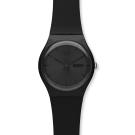 Swatch 原創系列 BLACK REBEL 黑色反叛手錶-41mm