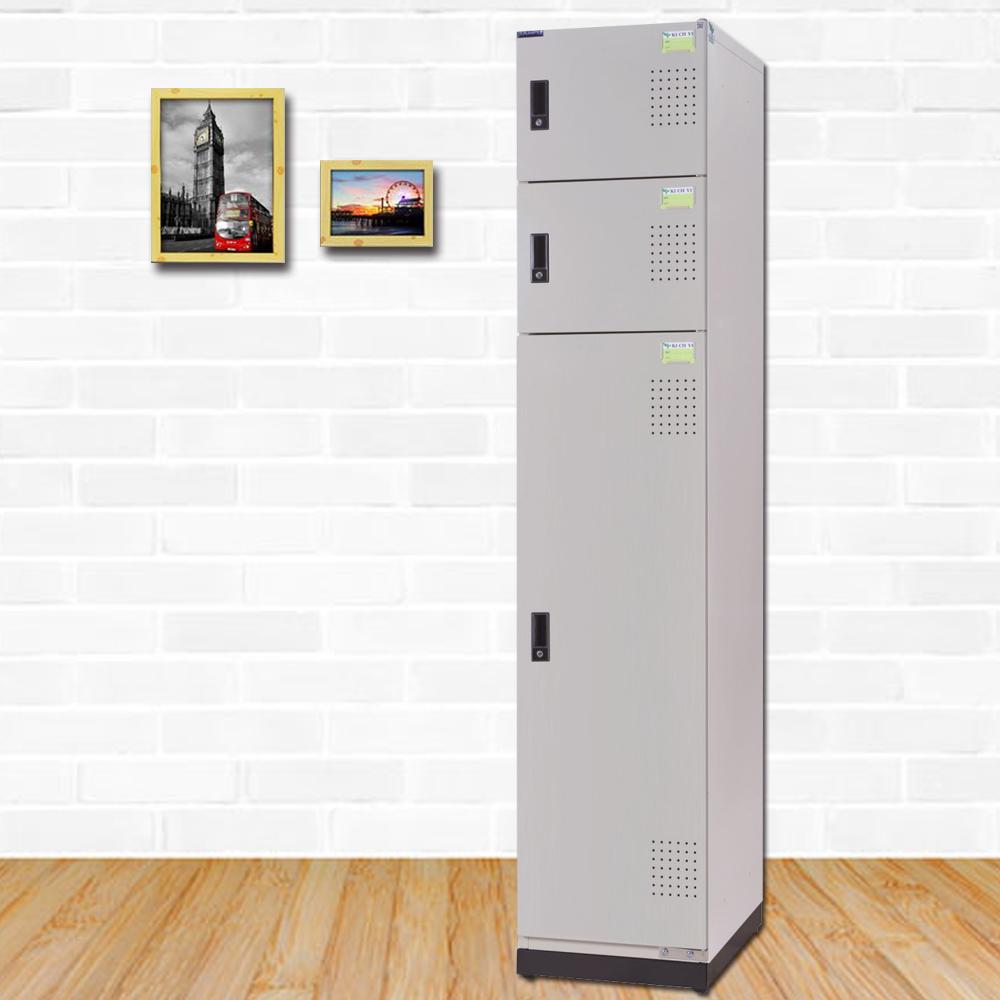 時尚屋 克雷格多用途鋼製置物櫃 寬39x深40x高185cm