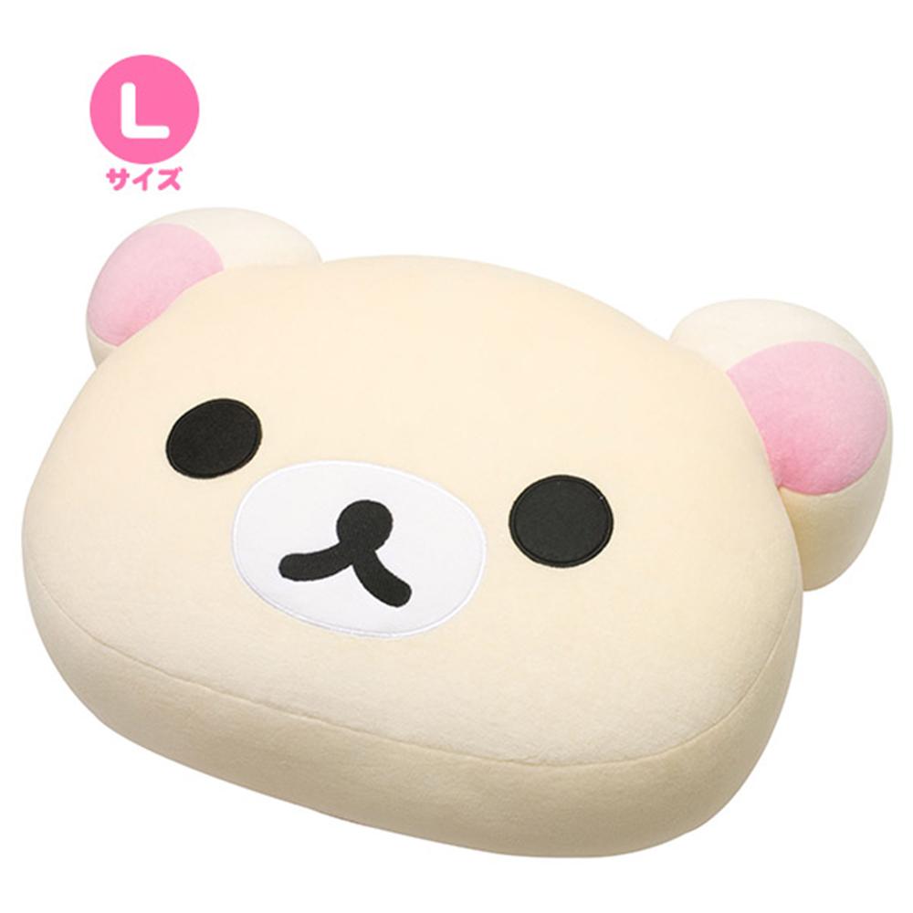拉拉熊滿滿懶熊生活系列超柔軟QQ抱枕 (L)。懶妹