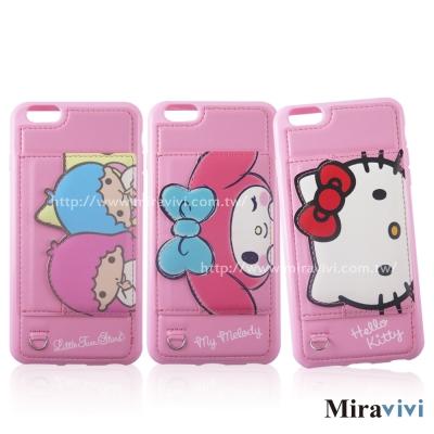 Sanrio三麗鷗iPhone 6 Plus/6s Plus可立式經典大頭皮革