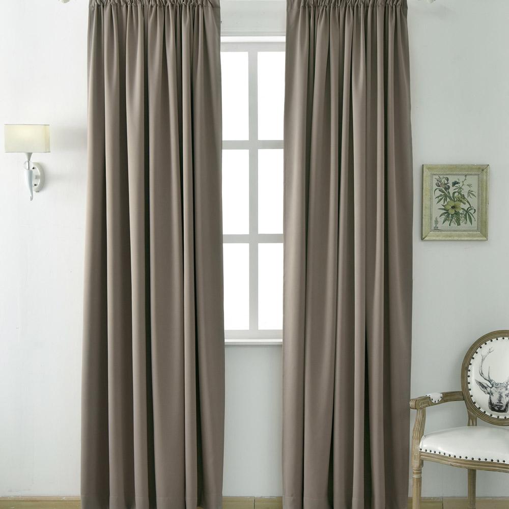 伊美居 - 多倫多全遮光半腰窗簾 130x165cm(2件)