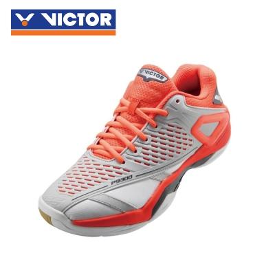 【VICTOR】勝利羽球鞋 SH-P9300 HD 月岩灰/番茄紅