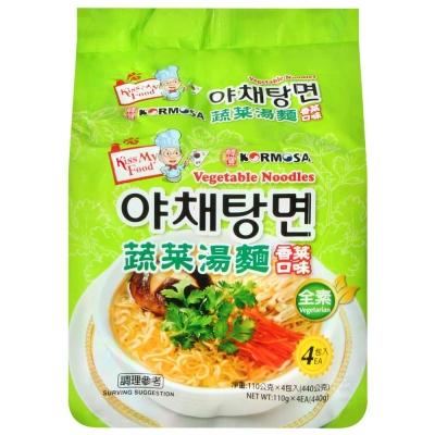 PALDO KORMOSA蔬菜拉麵-香菜口味(110gx4入)