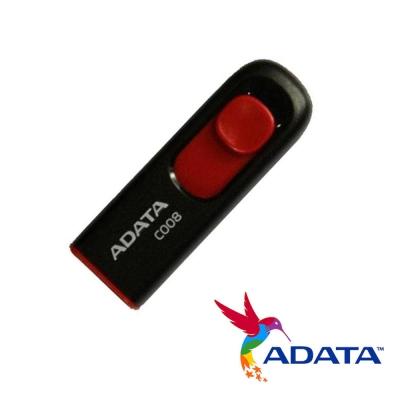 威剛-C008-32GB-行動碟-黑紅
