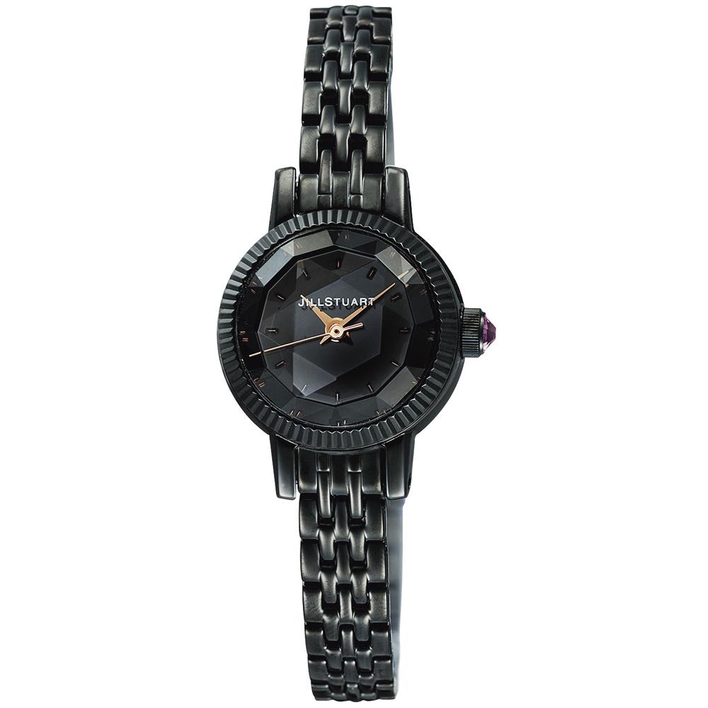 JILL STUART Gem Special系列典雅時尚腕錶-黑/20mm
