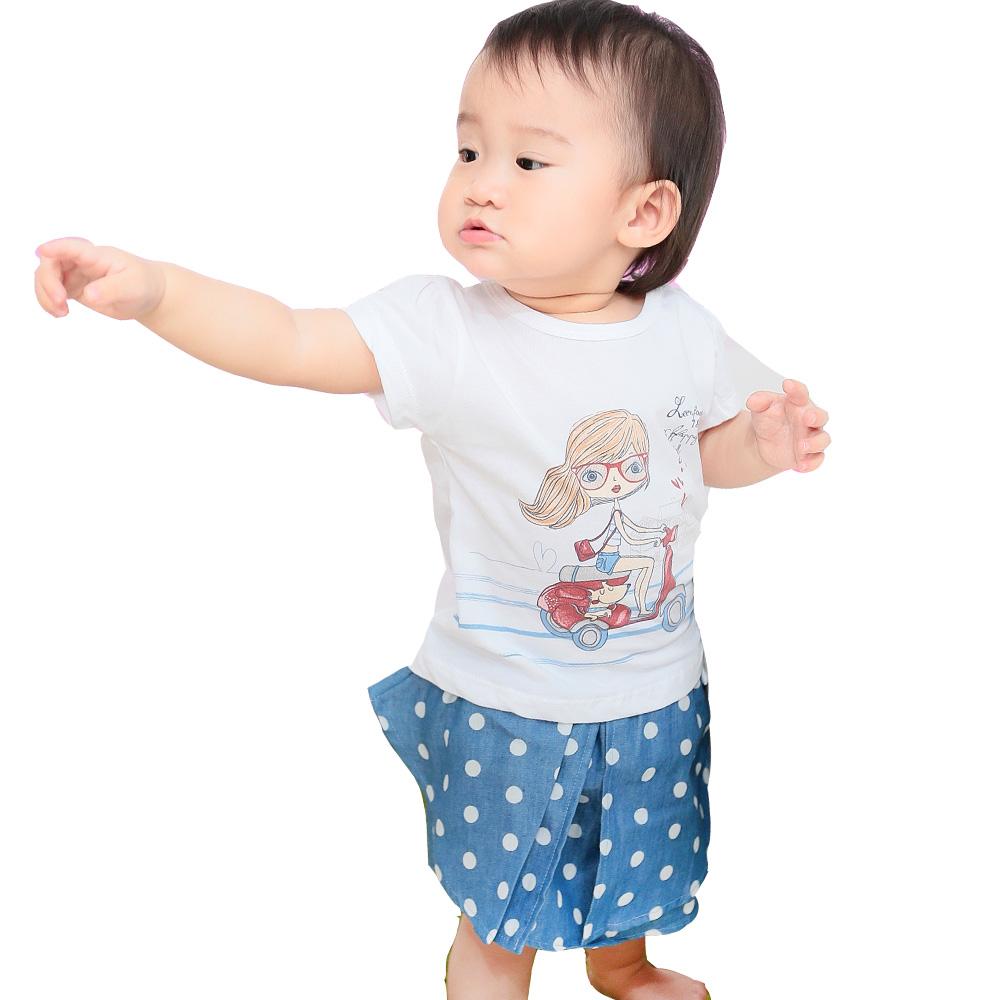 魔法Baby 短T短裙夏季套裝 k34998