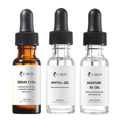 C-Skin杜克 C15+色修淡斑組(15ml)(送杜克體驗品*2)