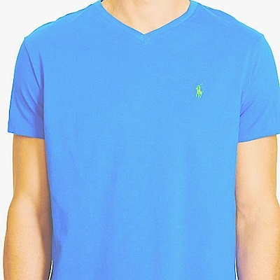 Ralph Lauren 短袖 T恤 藍 0759
