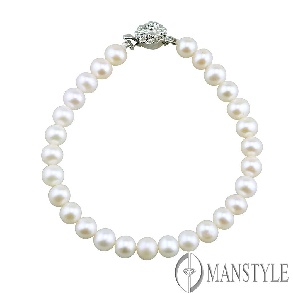 MANSTYLE 風情珍珠手鍊