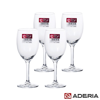 ADERIA 日本進口紅酒杯4入套組