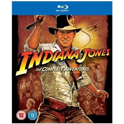 印第安納瓊斯-1-4套裝-Indiana-Jones-Quadrilogy-藍光-BD