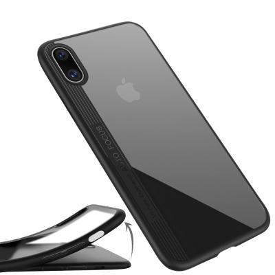 防摔專家 iPhoneX 雙材質TPU+PC強化防摔抗震手機殼(黑/白)