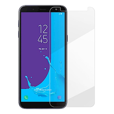 Metal-Slim Samsung Galaxy J6 9H鋼化玻璃保護貼
