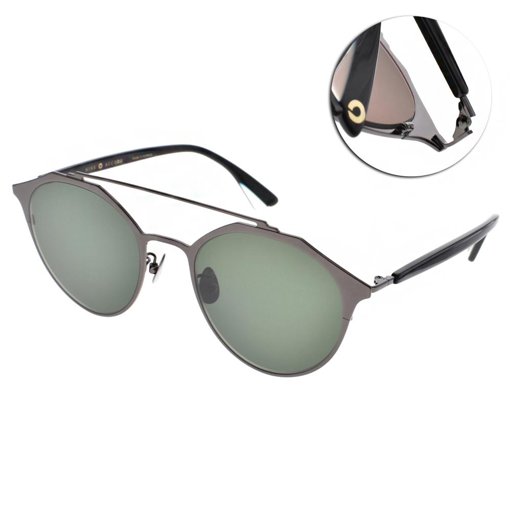 NINE ACCORD太陽眼鏡 雙槓造型款/槍灰#KISSING-MARSTWO C03