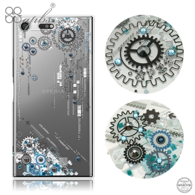 apbs Sony Xperia XZ Premium 施華洛世奇彩鑽手機殼-源...