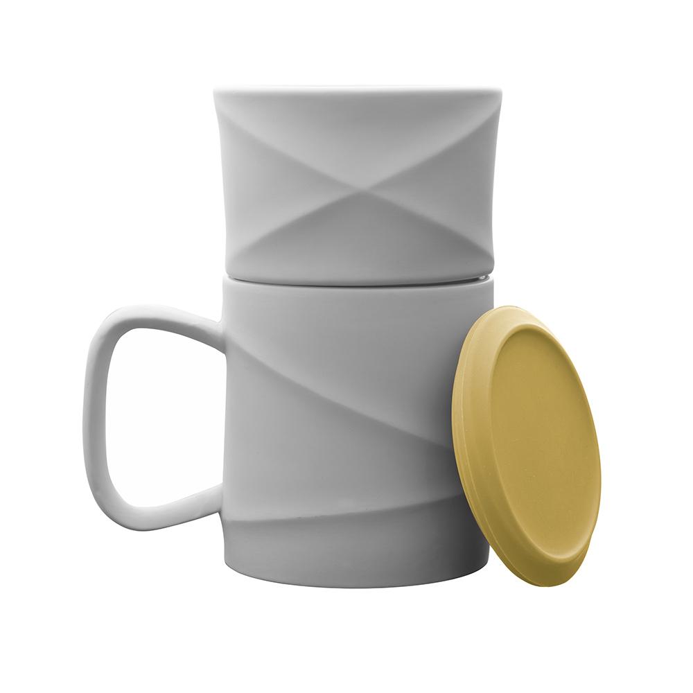 TOAST WAVE 咖啡馬克杯組(鵝黃)