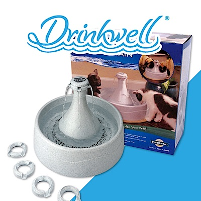 Drinkwell 好好喝 360度寵物瀑布噴泉 3.8L