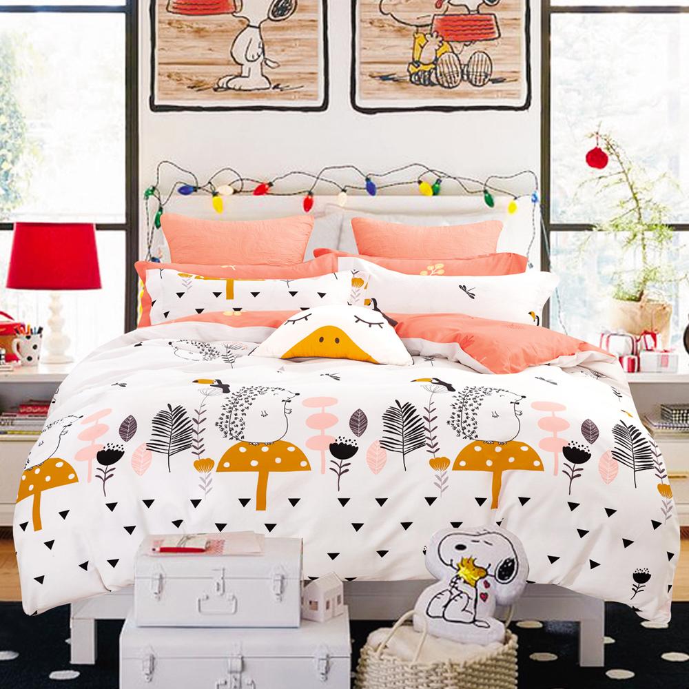 Ania Casa童心樂園 雙人四件式 100%精梳棉 台灣製 床包被套純棉四件組