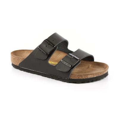 勃肯BIRKENSTOCK 051191 亞利桑那 經典二條拖鞋(黑)