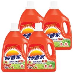 妙管家-抗菌洗衣精4000g(4入/箱)