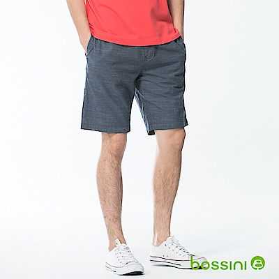 bossini男裝-印花輕便短褲04藍紫