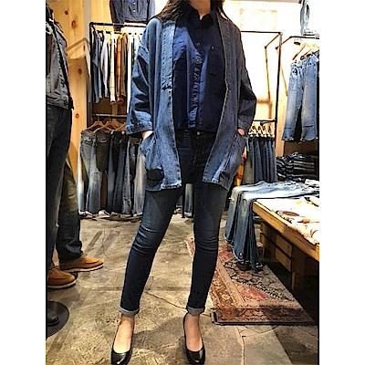 Levis 牛仔外套 女裝 日式短掛 復古剪裁 七分袖