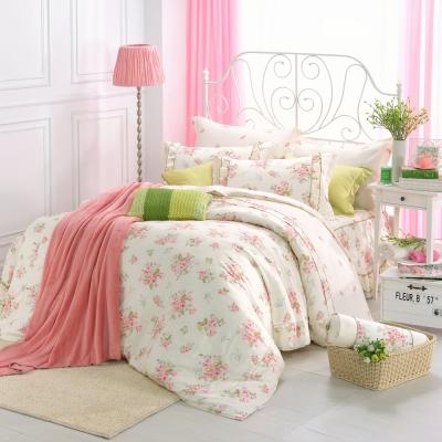 南法小鎮-精梳棉-加大七件式鋪棉床罩組