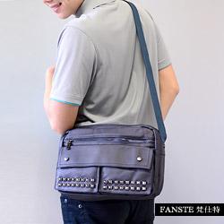 Fanste_梵仕特 側背包 金屬扣風休閒包-1351