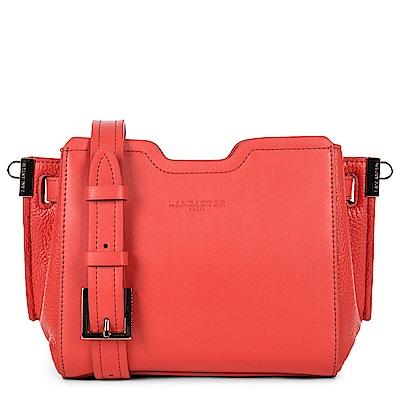 LANCASTER Paris-IRENE 時尚幾何拼接皮革肩背包